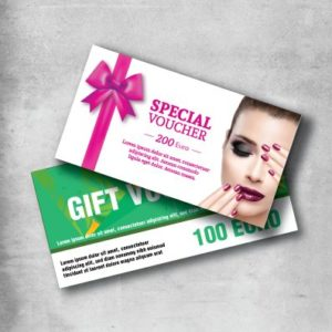 gift voucher printing
