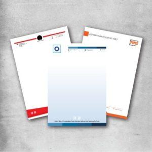 letterhead printing service