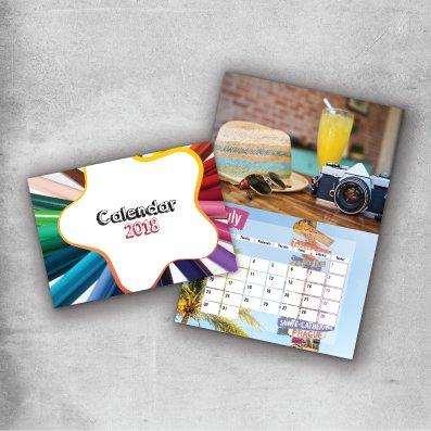 Saddle Stitched Calendar