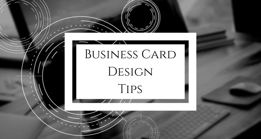 Business Card Design Tips Quantum Fulfilment Printing Service