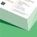 green seam business card