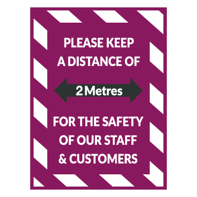 VFI – 2 Metre Floor Decals (QUL/FD/102)