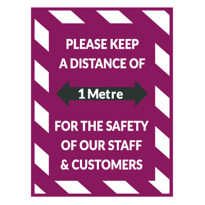 VFI – 1 Metre Floor Decals (QUL/FD/103)